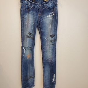 Express Jean's stella skinny leg. D16,A,8/20